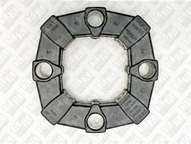 Эластичное соединение (демпфер) для экскаватор колесный JCB JS175W (331/19786, 20/950665, KRJ3451)