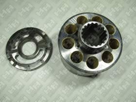 Блок поршней c распределительной плитой для гусеничный экскаватор KOMATSU PC400-6 (708-2H-04140, 708-2H-04150)