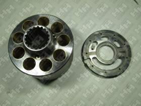 Блок поршней c распределительной плитой для экскаватор гусеничный KOMATSU PC400-8 (708-2H-04760, 708-2H-04750)