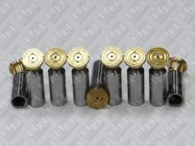 Комплект поршней (9шт.) для экскаватор гусеничный VOLVO EC330B (SA7223-00140, SA7223-00150, SA7223-00160)